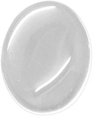 perlesmania.com Pax 30 CABOCHONS Ovale 18 par 25mm en Verre Domes Transparents S1113938