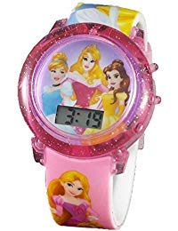 Disney Princess Girl's Digital Light Up Watch by Accutime