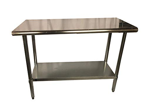 Stainless Steel Kitchen Food Prep Work Table 18 x 36 - NSF - Heavy Duty