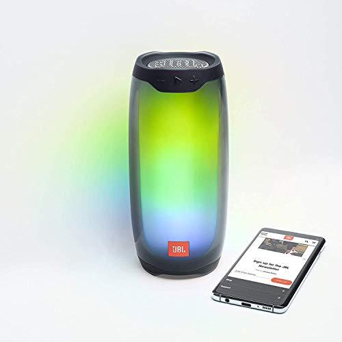 JBL Pulse 4 - Altavoz inalámbrico Bluetooth con efectos de luces y sonido a 360 grados, resistente al agua (IPX7), hasta…