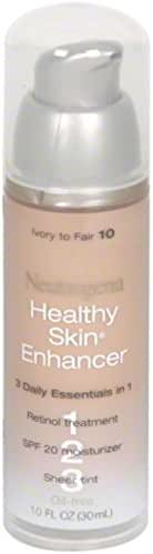 Neutrogena Healthy Skin EnTancer, Ivory to Fair 10, 1 Ounce (Pack of 2)