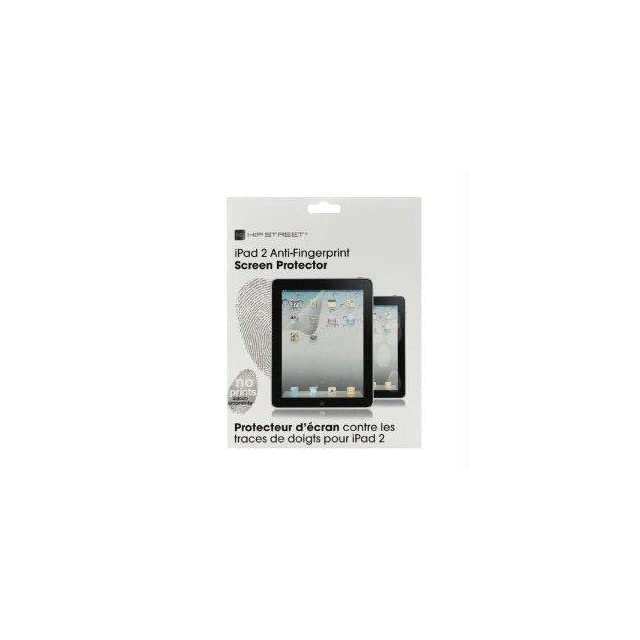 Kobian Usa Inc Hipstreets Ipad 4th, 3rd & 2nd Gen Anti fingerprint Screen Protector, Glare Resi