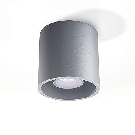 Focos de Techo 7W Downlight Orbis Gris con GU10 Lámpara Led ...