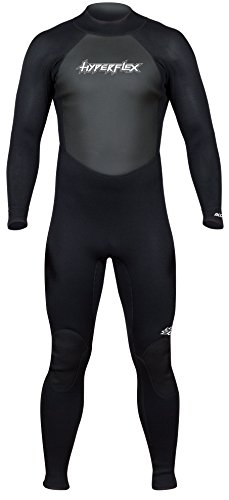 Hyperflex Wetsuits Men's Access 3/2mm Full Suit - (Black, X-Large)