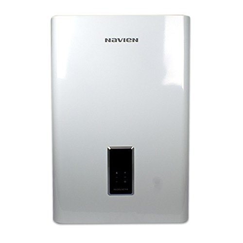 Navien NCB-210 Condensing Gas Combination Boiler with 4 GPM Flow Rate, 80000 BTU Heat