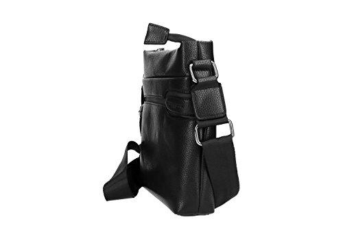 DI ARMATA VF322 hombre negro MARE Bandolera bandolera multicompartimientos bolsa EqvH55