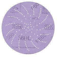 3M Building & Contractor Marke Disc, Clean Sanding, 5'' dia P320, 500 discs/case