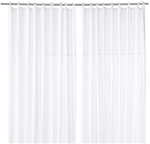 Ikea 803.128.99 Parlblad - Cortinas (1 par), color blanco: Amazon ...