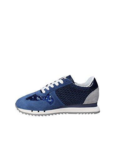 Sneakers in Donna e Blauer USA Camoscio per paiettes Nud Navy Rosa w5PIqqF