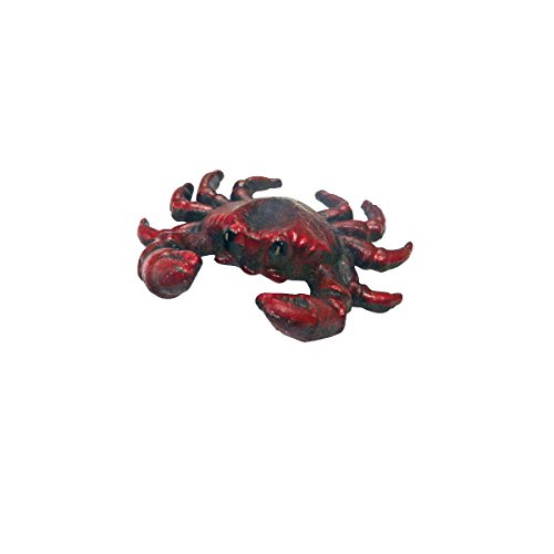 Red Crab (Design Toscano Deep Sea Red Crab Cast Iron Bottle)
