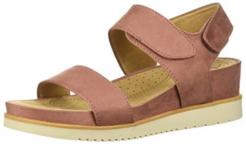 Mauve US SOUL Women's NATURAL Kaila M Flat Sandal P6dXq