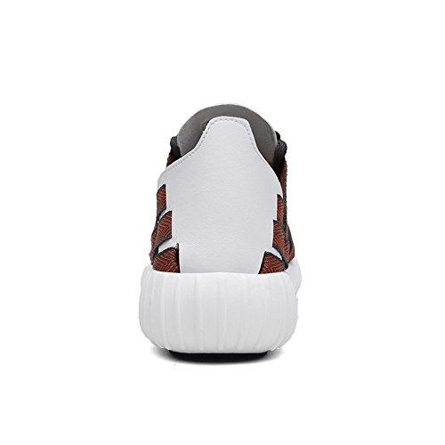 Hommes Casual Hommes Casual Chaussures En Plein Air Respirant Couples Chaussures Sneakers De Unisexe Hommes Femmes Tressées Chaussures ( Color : 5-39 )