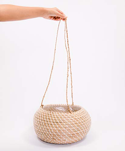 Outdoor Rattan Hanging Lights in US - 5