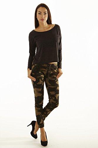 Exocet Womens Plus Size Camo Harem Jogger Pants (2x)