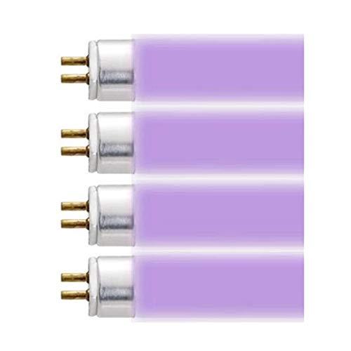 AQUATICLIFE 45.75 inch 460/620nm Purple 54 Watt T5 Fluorescent Lamp Part# 410225 Bulk Four Pack - Coral Acropora Light