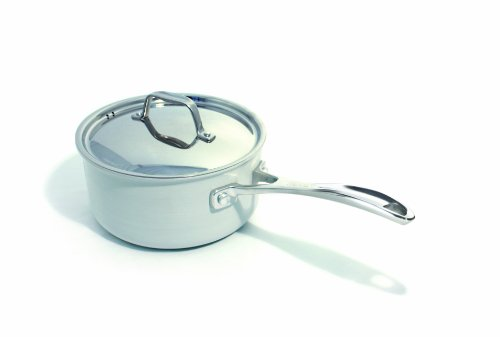 Beka Cookware Chef Eco-logic Covered Bekadur Ceramica Non-Stick, 8-Inch, Cream