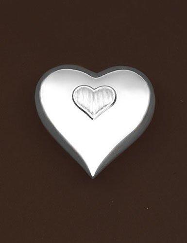 Vera Wang by Wedgwood Silver Plate Baby Music Box (Heart Box Silverplate)