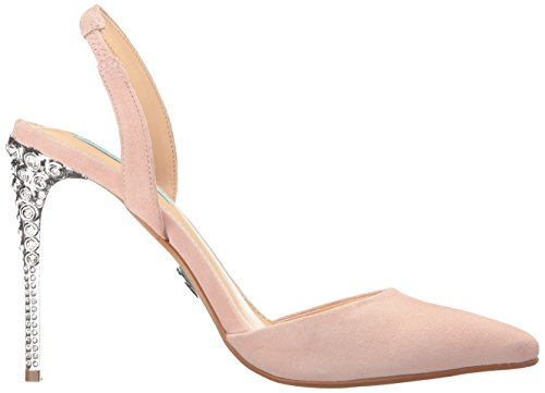 Blauw Door Betsey Johnson Dames Sb-leona Jurk Pump Blush