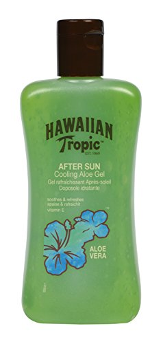 Hawaiian Tropic Cool Aloe Vera Gel- After sun 200ml (Best Suntan Lotion For Face Uk)
