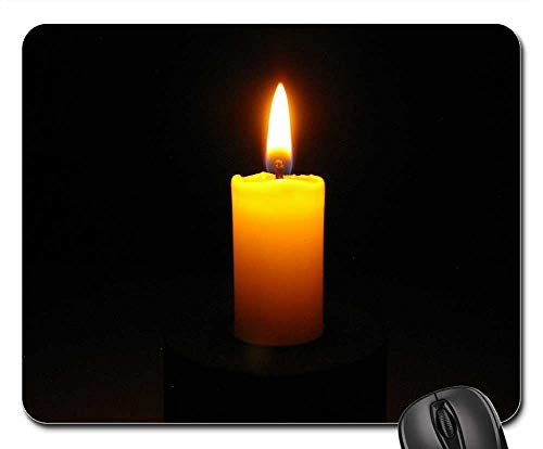 (Mouse Pads - Candle Mood Candlelight Light Flame Romance)