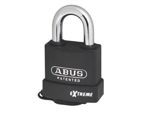 Abus 8363C hierro Candado de seguridad con llave para exteriores