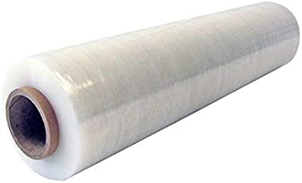 Rollo Papel Film Estirable Manual y Elastico Rollo plastico transparente para embalaje industrial de 0,5 x 200m Film Transparente Para Embalar 10 UNIDADES