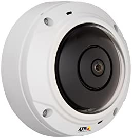 Axis 0556-001 M3027-Pve 5 Megapixel Network Camera M12-Mount White