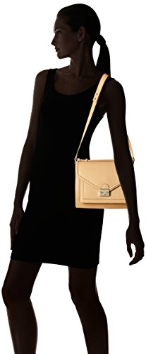 Rider Natural Gold Bag LOEFFLER RANDALL Satchel Medium Hq448w