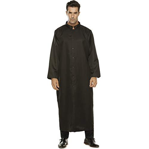 Roman Pastor Robe Cassock Clergy Vestment Costume(XX-Large)