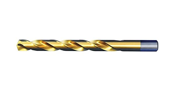 12 Pack Alfa Tools S160139TN Number 39 High-Speed Steel Jobber Drill Split Point Titanium Nitride Coated