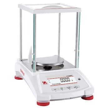 (Ohaus PX163/E Pioneer Analytical Balance, 160g x 0.001g, External Calibration with Draftshield)