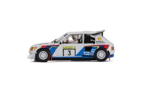 Amazon.com: Scalextric Peugeot 205 T16 Shell 1:32 Scale Slot Car: Toys & Games