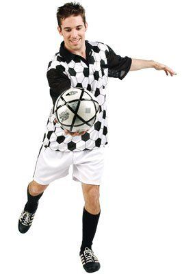 Soccer Player Adult Costume (Soccer Player Costumes)