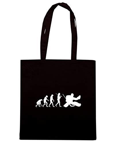 Shirt THE GOALIE Speed Nera Shopper Borsa HOCKEY OLDENG00687 EVOLUTION OF THE 7qFwRdFBT