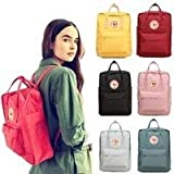 Fashion Canvas Backpack Arrival Waterproof Backpacks Mochila Classic for Student Kanken Backpack School Bags(Fog,7 l)