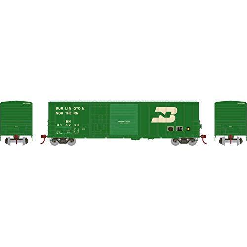 Athearn HO RTR 50' FMC Combo Door Box BN #315296, ATH26682