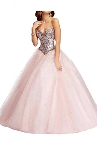 Vestiti I Di Da Ballo Bordato Rosa Per Quinceanera Ragazzi Dell'innamorato Sposa Abiti Angelo Tulle Luce x8FzRZ8