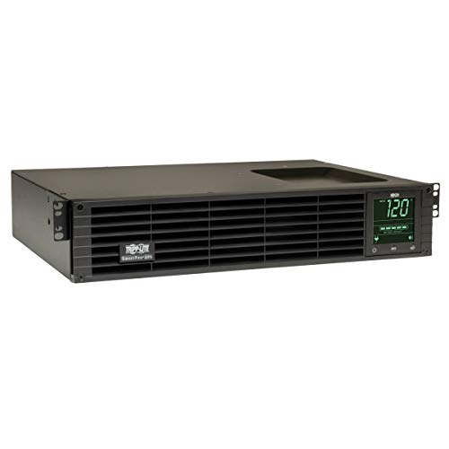 Tripp Lite SmartPro 120V 1.5kVA 1.35kW Line-Interactive Sine Wave UPS, 2U Rack/Tower, Extended Run, WEBCARDLX Network Interface, LCD (SMART1500RMXLN)