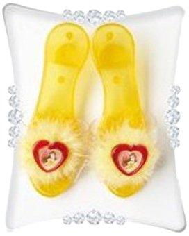 Zapatos de tacón para disfraz infantil de la princesa de Disney Bella, talla única