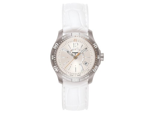 Traser H3 Ladytime Silver Ladies Watch T7392.S56.G1A.08 / 100341