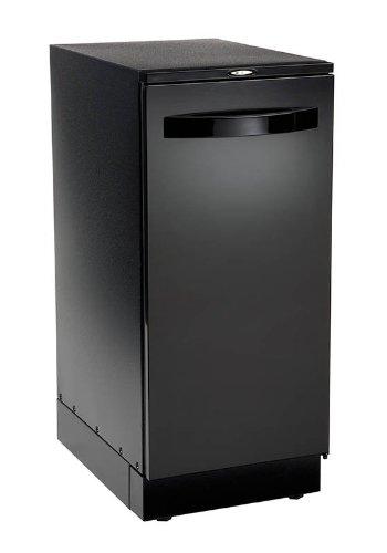 """Broan 15BLEXF 15"""" 220v Elite Black Door Trash Compactor"""