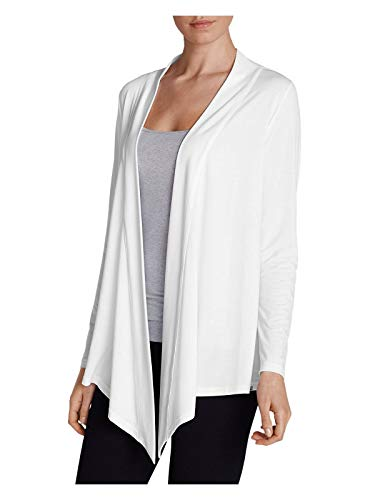 Eddie Bauer Women's Daisy 2.0 Long-Sleeve Wrap - Solid, White Petite M
