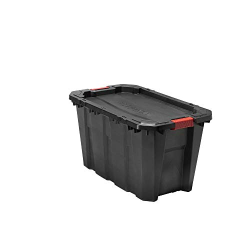 Husky 35 Gal. Latch and Stack Tote