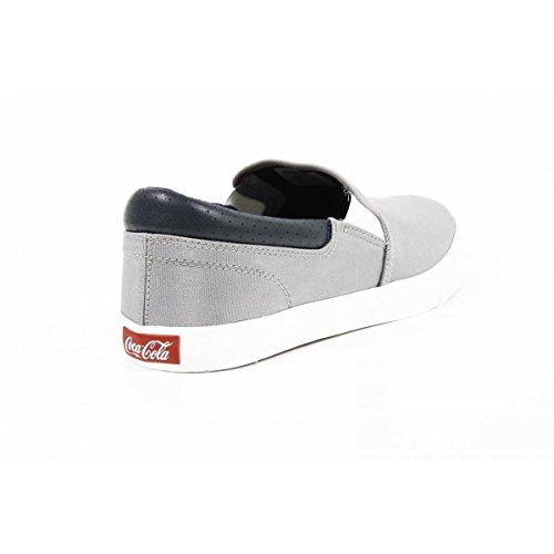 Coca Cola Mens Driver Sneakers Cca0705 Iate Vegas Grigio Grigio