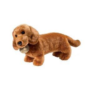 Yomiko Dachshund Realistic Stuffed Animal Plush Dog by Russ (Russ Yomiko Classics Plush)