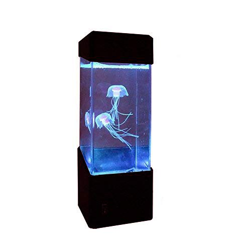 EPITEN Jellyfish Lamp Electric Jellyfish Tank Aquarium-Color Changing Mood Lamp for Home Decoration Magic lamp Night-Lights for Gift