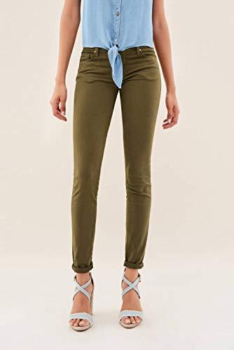 Salsa Pantalons Skinny Vert de Couleur Wonder U7Uxqr8