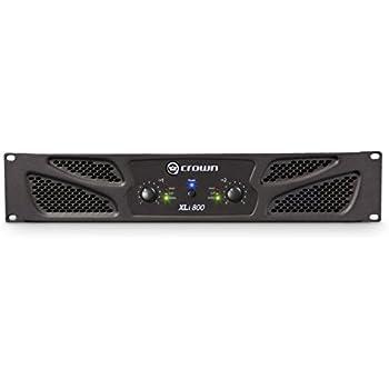 Crown XLi800 Two-channel, 300W at 4Ω Power Amplifier