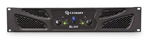 Preamps And Amplifiers Crown - Crown XLi800 Two-channel, 300W at 4Ω Power Amplifier