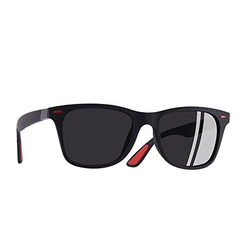 polarizadas del macho C1Black bastidor sol gafas gafas Gafas gafas hombres UV400 de guía Classic TIANLIANG04 C3gris RFqSIHn